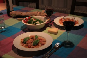 Pasta-with-Sausages-4